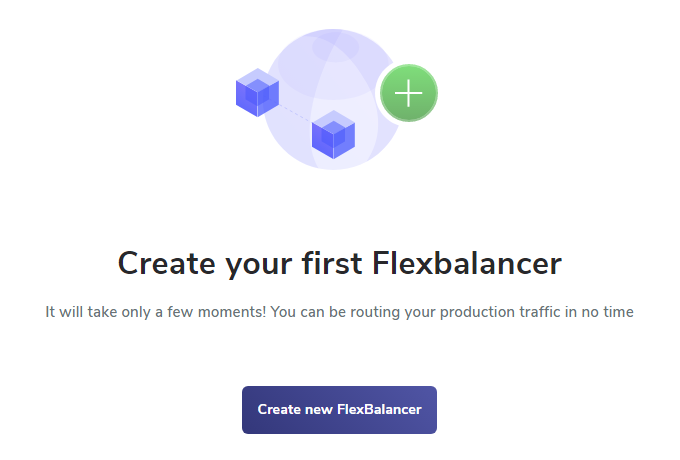 Create First FlexBalancer Screenshot